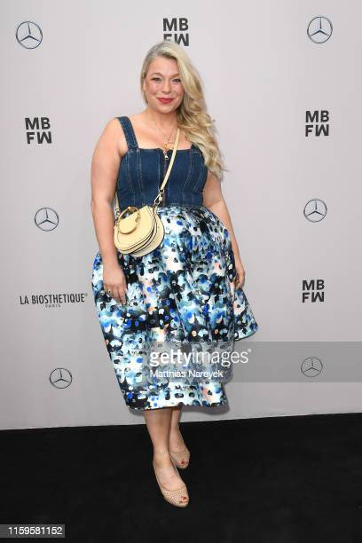 Caterina Pogorzelski attends the Irene Luft show during the Berlin Fashion Week Spring/Summer 2020 at ewerk on July 02 2019 in Berlin Germany