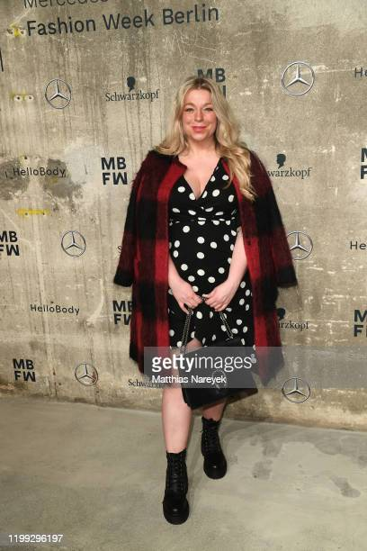 Caterina Pogorzelski attends the MercedesBenz presents Fashion Talents from South Africa show during Berlin Fashion Week Autumn/Winter 2020 at...