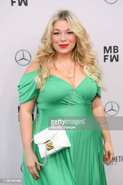 Caterina Pogorzelski attends the Sportalm Kitzbuehel show during the Berlin Fashion Week Spring/Summer 2020 at ewerk on July 03 2019 in Berlin Germany