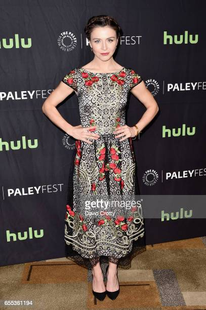 Caterina Scorsone attends PaleyFest Los Angeles 2017 'Grey's Anatomy' at Dolby Theatre on March 19 2017 in Hollywood California