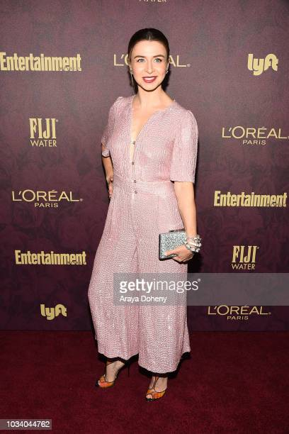 Caterina Scorsone attends the 2018 Pre-Emmy Party hosted by Entertainment Weekly and L'Oreal Paris at Sunset Tower Hotel on September 15, 2018 in...