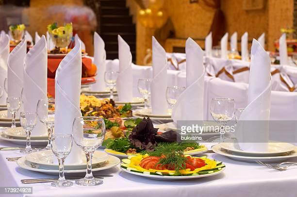 Service traiteur et de banquet