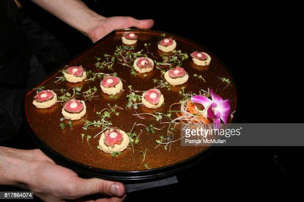 Catering attends INFA Energy Brokers LLC celebrates the release of BRAD SCHAEFFER's 'Hummel's Cross' at Provocateur on September 24 2010 in New York