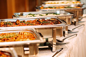 Catering Food Wedding Event Table