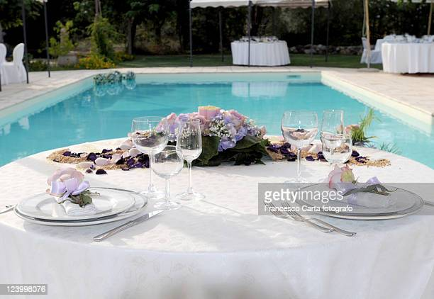 catering for wedding - sport venue stock pictures, royalty-free photos & images