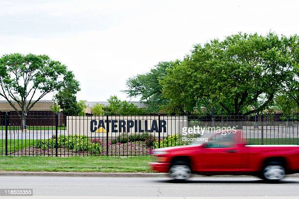 Caterpillar Inc. Facility stands in Morton, Illinois, U.S., on Sunday, July 3, 2011. Caterpillar, the world's largest construction-equipment maker,...