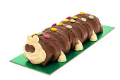 Caterpillar party cake