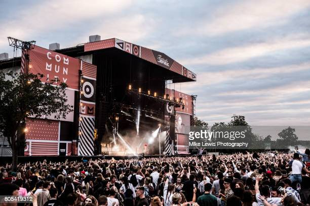 Catfish and the Bottlemen headlines Community Festival at Finsbury Park on July 1 2017 in London England