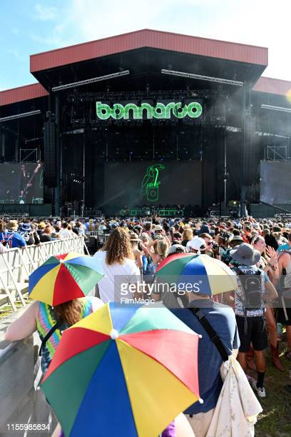 Catfish And The Bottlemen perform on What Stage during the 2019 Bonnaroo Arts And Music Festival on June 14, 2019 in Manchester, Tennessee.