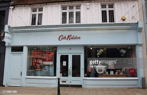 Cath Kidston shop frontage seen on May 14 2020 in Kingston upon Thames England The prime minister announced the general contours of a phased exit...