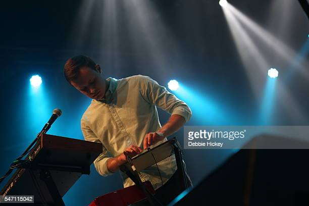 Cathal Histon of Bleeding Pigeons performs at The Marquee on July 13 2016 in Cork Ireland