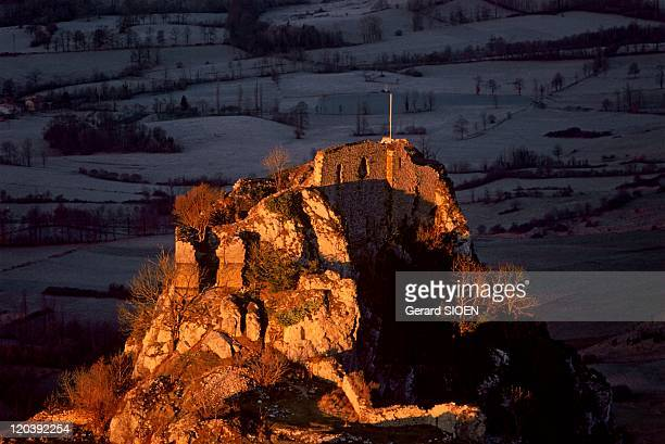 Cathar country the castle of Roquefixade in France After the French conquest the castle of Roquefixade between Foix and Montsegur was used as the...