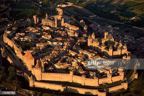 Cathar country The City of Carcassonne in France