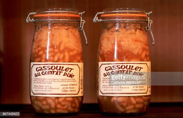 the Lauragais canned cassoulet Pays Cathare le Lauragais conserves de cassoulet