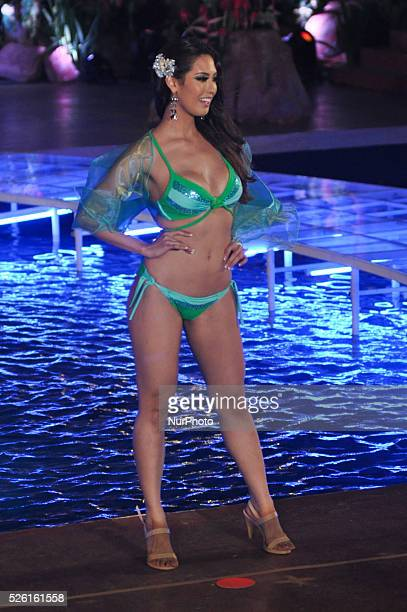 Catharina Choi of Korea during the swimsuit competition during the Miss Earth 2013 pageant's grand coronation night held in Alabang Muntinlupa City...
