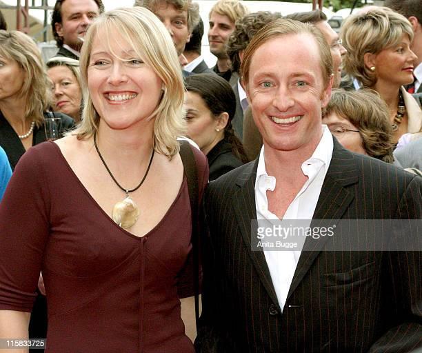 Catharina Deus and Wilfried Hochholdinger during Dreigroschenoper Berlin Premiere at Admiralspalast in Berlin Berlin Germany