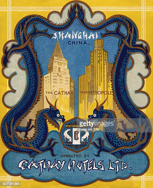 Cathay Hotels Ltd Luggage Label