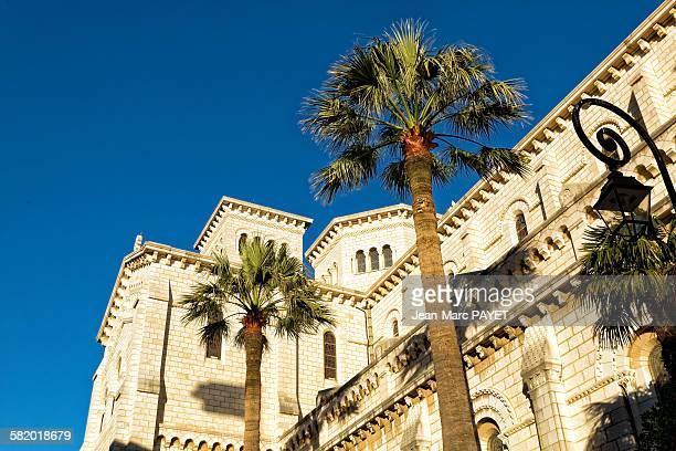 cathédrale notre-dame-immaculée de monaco - jean marc payet stock pictures, royalty-free photos & images