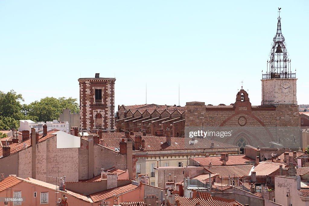 Cathédrale St-Jean, Perpignan - France : Stock Photo