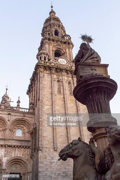 Cathedral and historical center Santiago Compostela