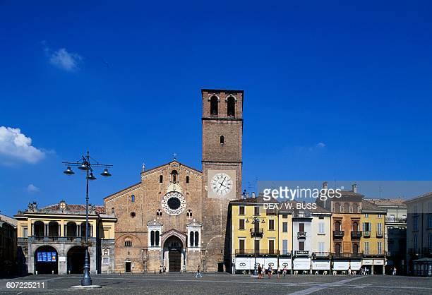 Cathedral Basilica of the Assumption piazza della Vittoria Lodi Lombardy Italy 12th13th century