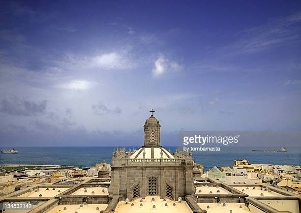 cathedral basilica - las palmas cathedral stock photos and pictures