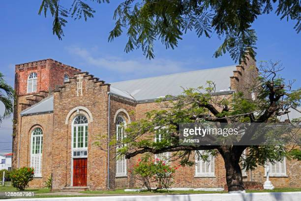 Cathedral Church of St. John the Baptist, primary cathedral of the Anglican Diocese of Belize, Belize City, Caribbean, Central America .
