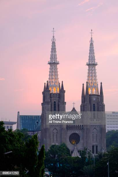 Cathedral Church, Sunset, Jakarta