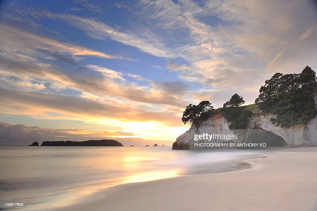 Cathedral Cove : Bildbanksbilder