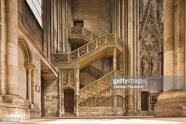 cathedral de notre dame - rouen stock pictures, royalty-free photos & images