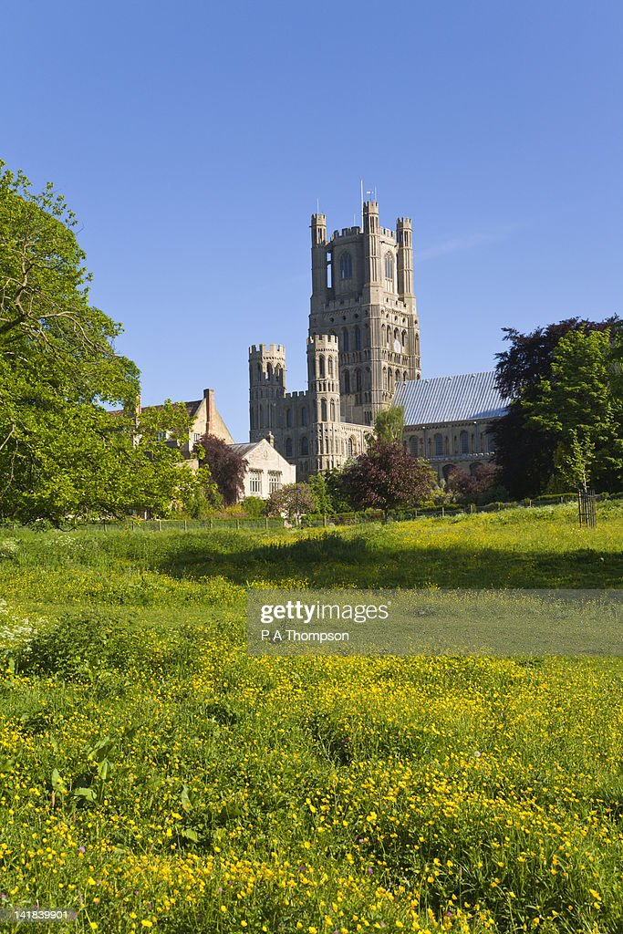 Cathedral, Ely, Cambridgeshire, England : Stock Photo