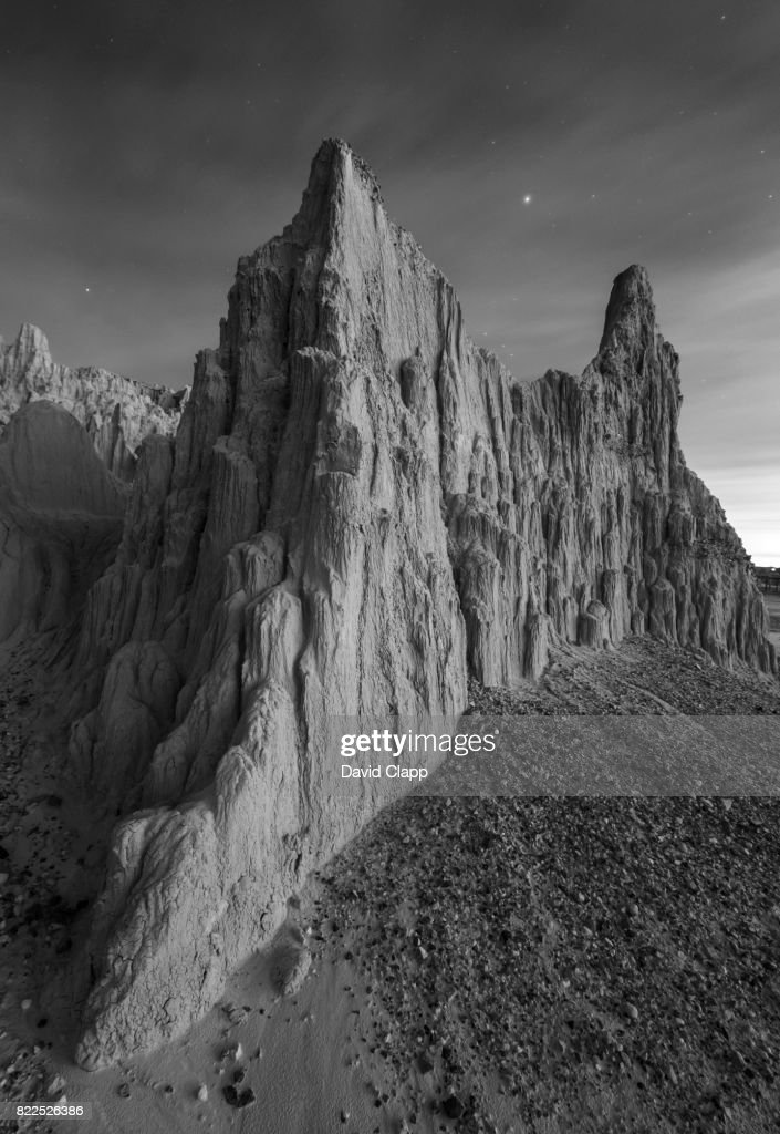 Cathedral Gorge, Nevada, USA : Stock Photo