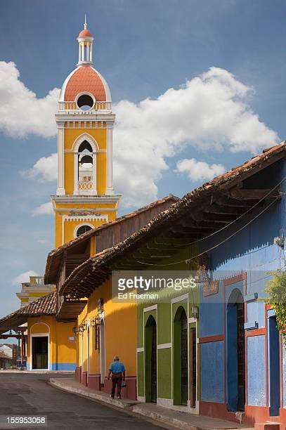 cathedral, granada, nicaragua - nicarágua - fotografias e filmes do acervo