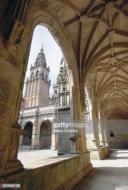 cathedral in santiago de compostela - marco cristofori fotografías e imágenes de stock