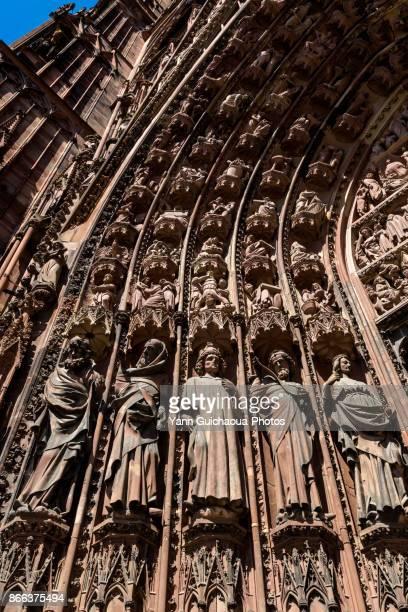 Cathedral Notre Dame, Strasbourg, Bas Rhin,Alsace, France