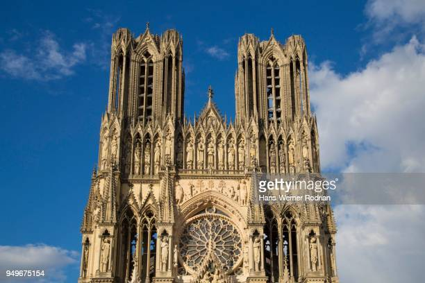 Cathedral Notre-Dame, High Gothic, Unesco World Heritage Site, Reims, Department of Marne, France