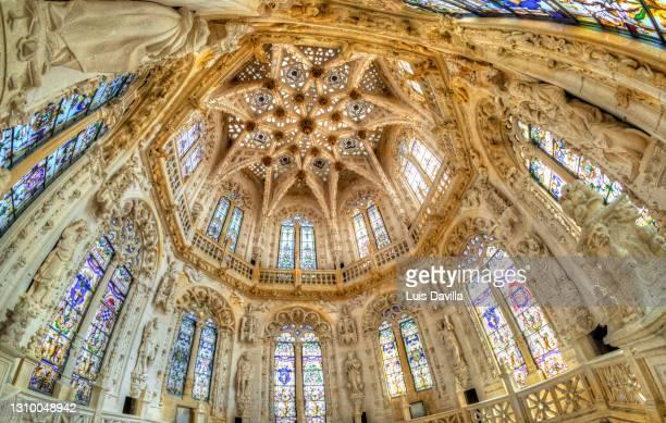 cathedral of burgos. burgos. spain - burgos stock-fotos und bilder