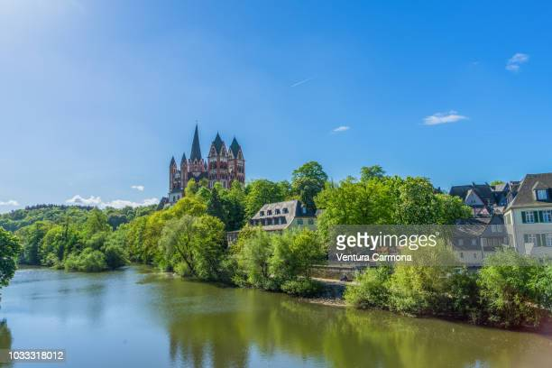cathedral of limburg an der lahn - hesse germany stock pictures, royalty-free photos & images