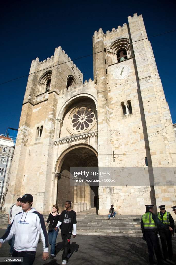 Cathedral of Lisbon : Stock Photo
