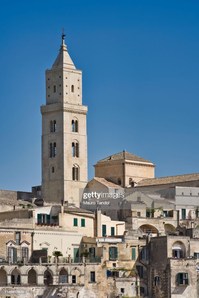 Cathedral of Matera, Italy : Foto stock