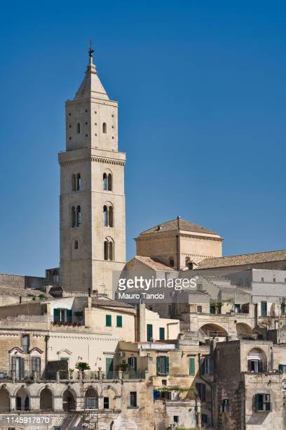 cathedral of matera, italy - mauro tandoi stock pictures, royalty-free photos & images