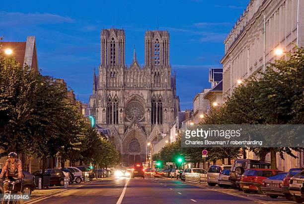 Cathedral of Notre Dame, UNESCO World Heritage Site, Reims, Haute Marne, France, Europe