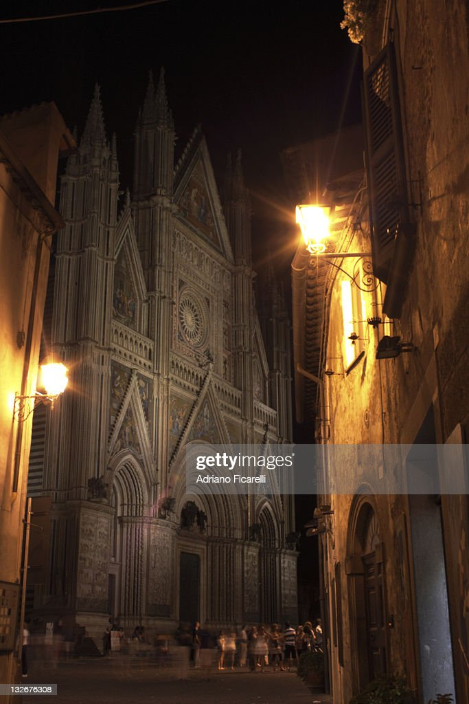 Cathedral of Orvieto, Italy : Foto stock
