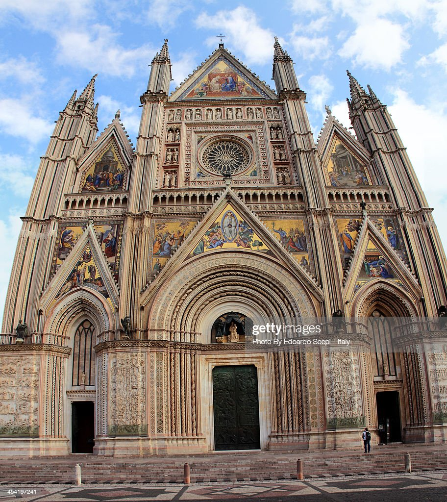 Cathedral of Orvieto : Foto de stock