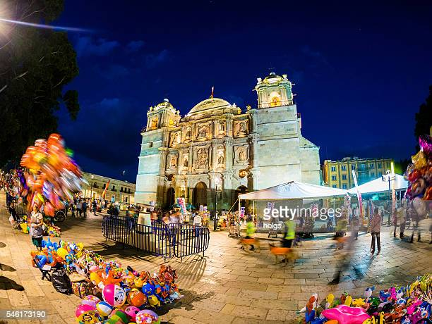 Cathedral of Our Lady of the Assumption in Oaxaca, Mexico
