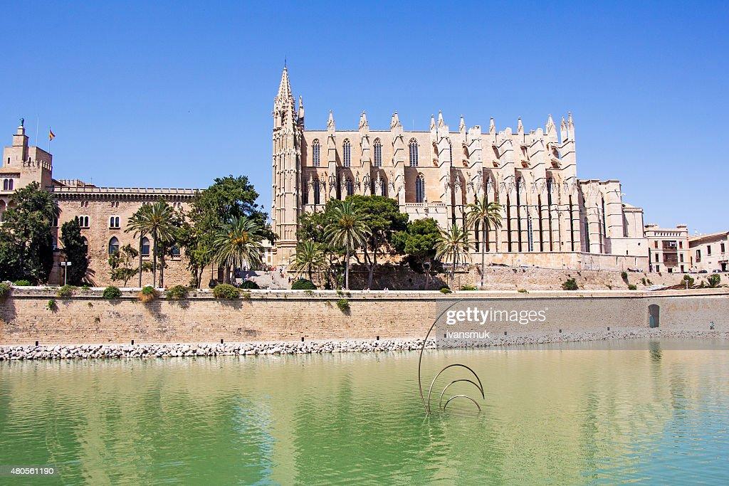 Cathedral of Palma de Mallorca : Stock Photo