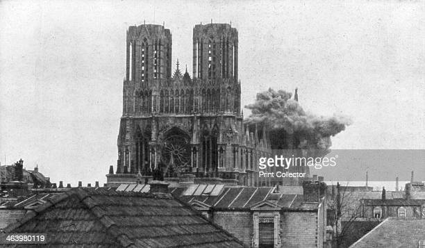Cathedral of Reims First World War 19 April 1917
