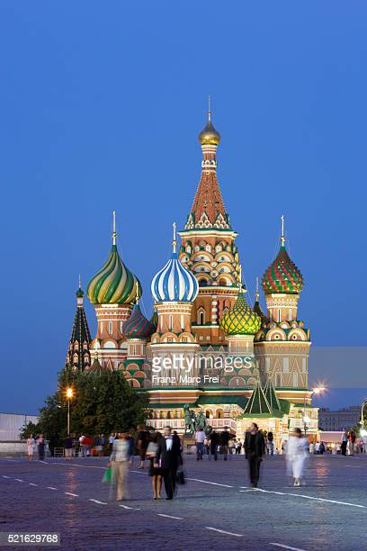 Cathedral of Saint Basil the Blessed on Red Square