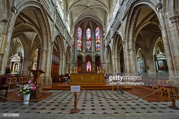 Cathedral of Saint Louis in Blois.