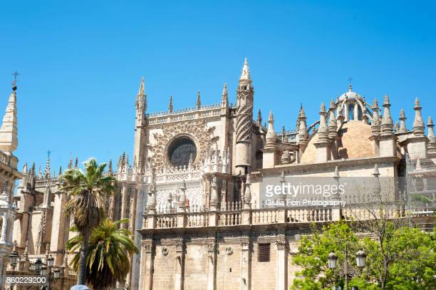 Cathedral of Saint Mary of the See  in Seville, Spain